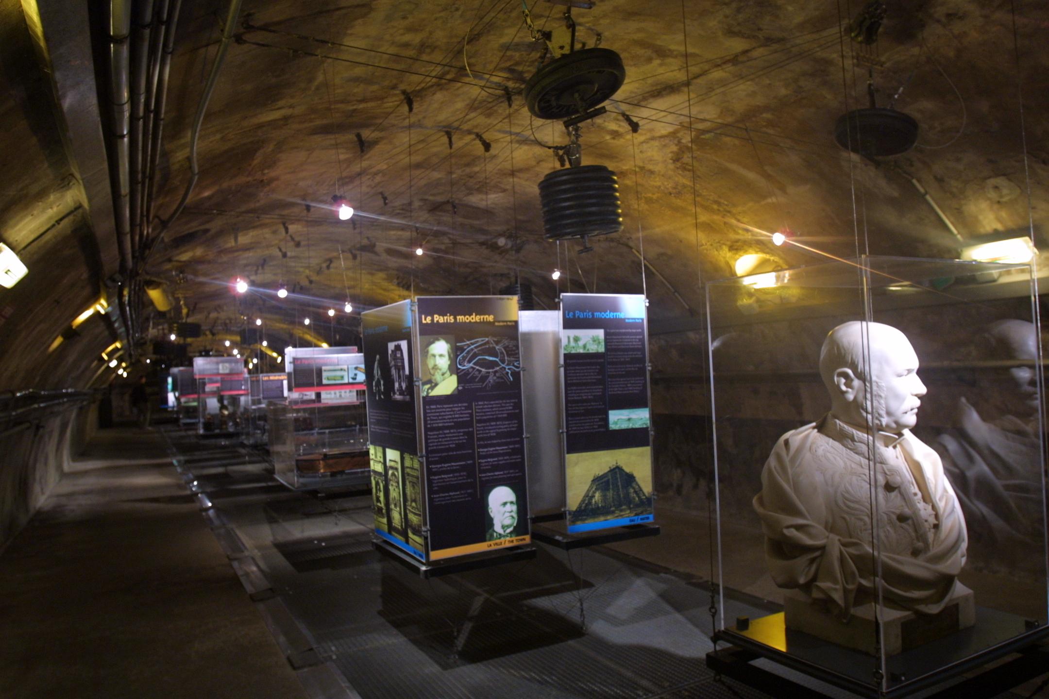 paris kanalizasyon müzesi