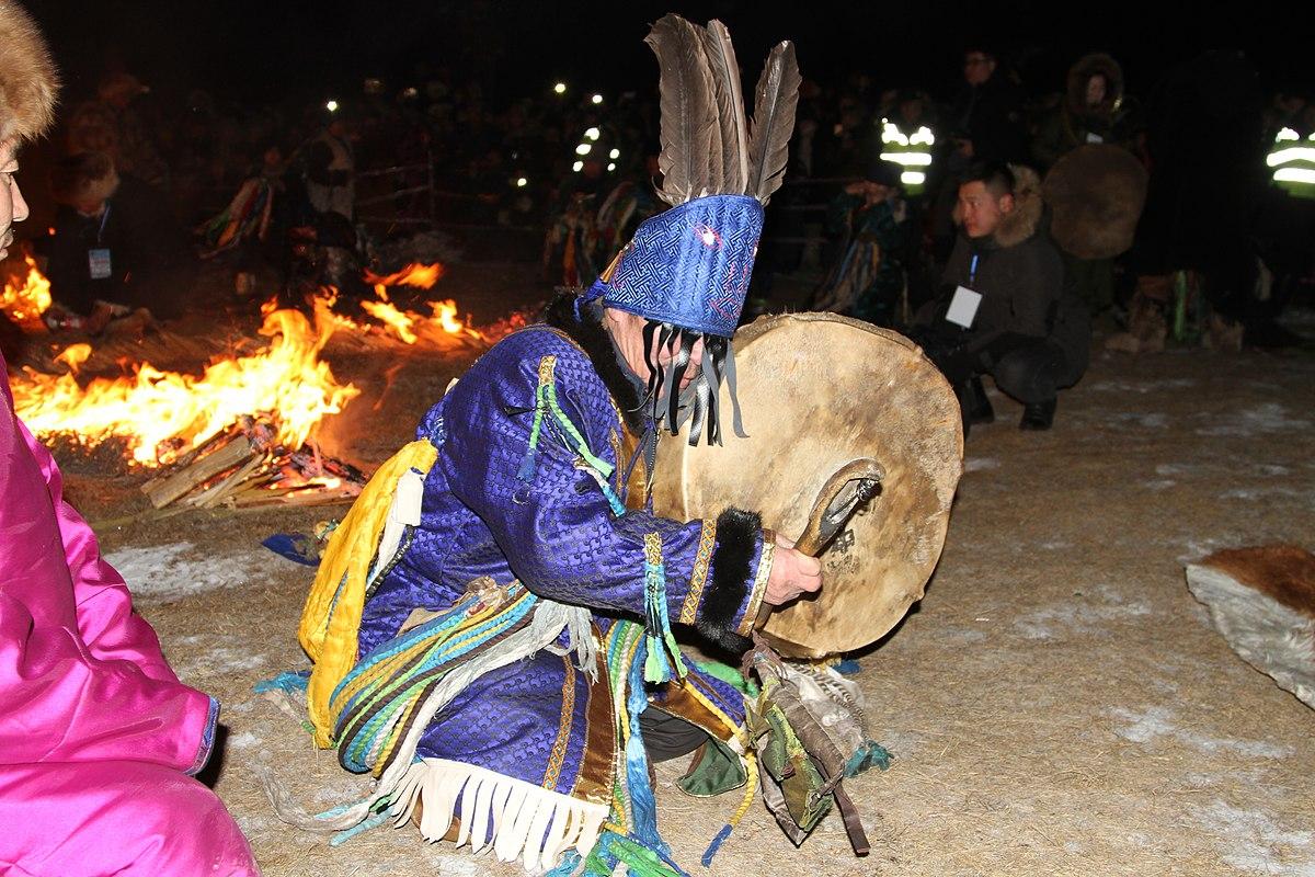 şaman ayini