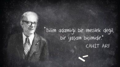 Photo of TÜRKİYE'DE MATEMATİĞİN BABASI – CAHİT ARF